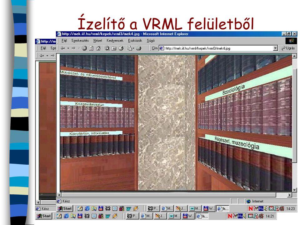 Ízelítő a VRML felületből