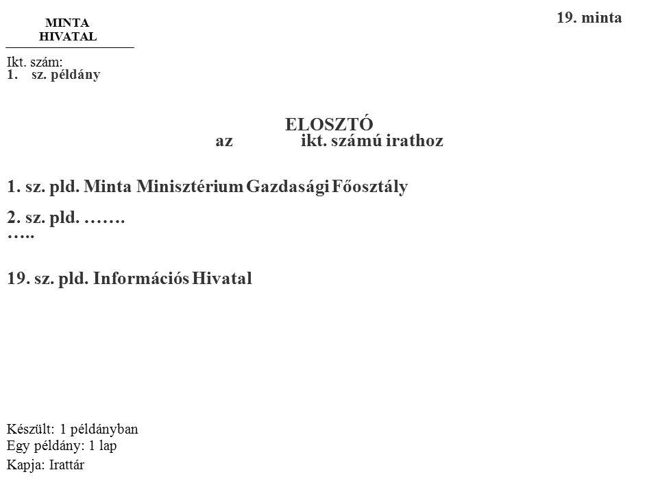 """-3- """"Titkos!"""" Szöveg: ……………………………………………………………………………………………… ………………………………… Budapest, 2015. február 11. Dr. Minta Csaba P.H. Dr. Minta Csaba Minta Hivata"""