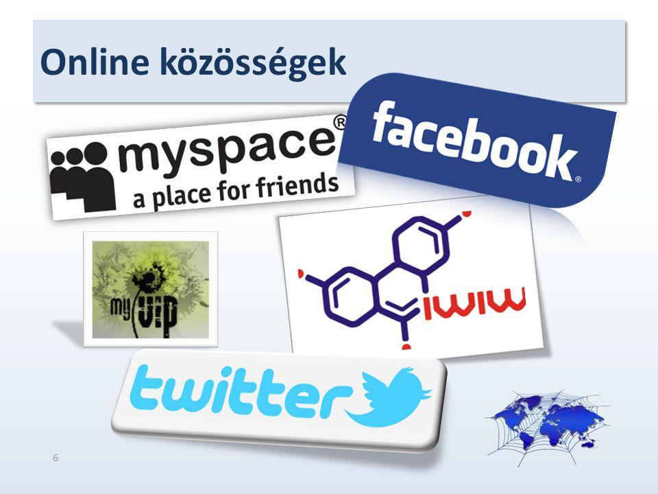 Online közösségek 6