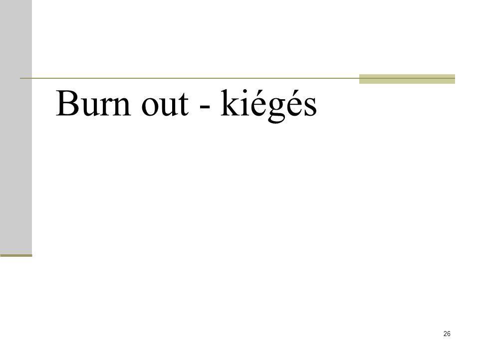 Burn out - kiégés 26