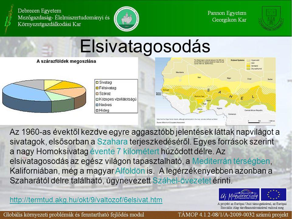 A nagy időjárási és árvízi katasztrófák gazdasági kártétele az elmúlt 40 évben Forrás: www.grida.nowww.grida.no