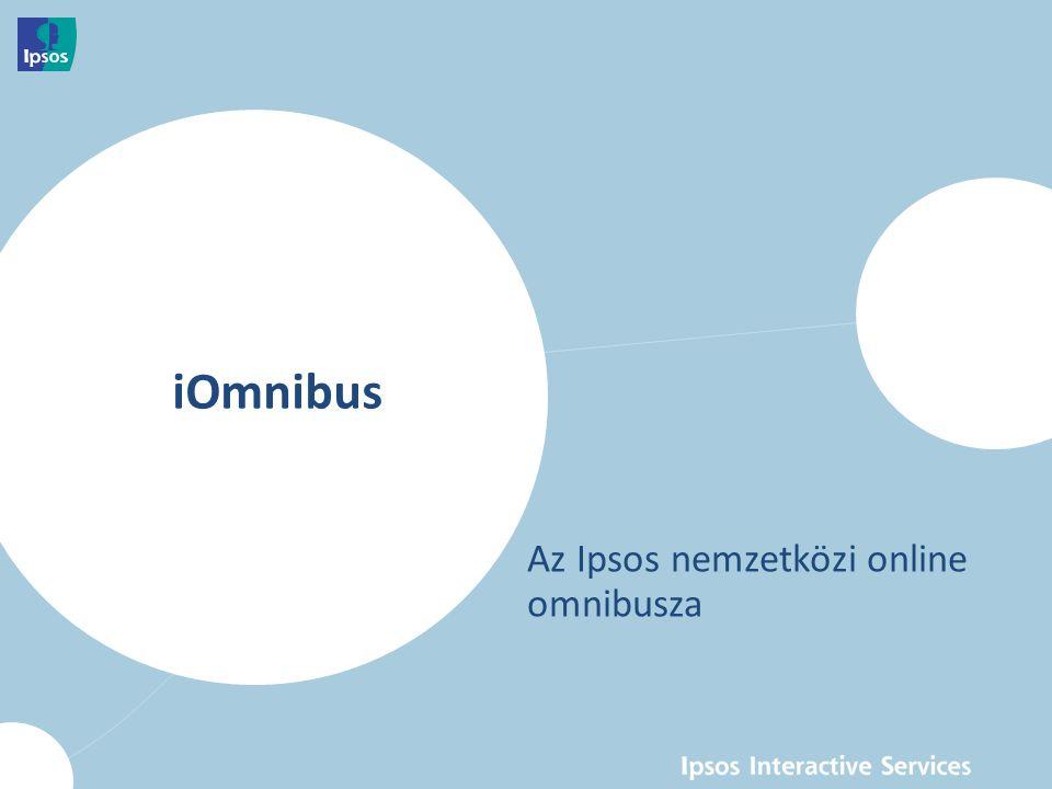 iOmnibus - Az Ipsos nemzetközi online omnibusza 4  Az Ipsos Interactive Services (IIS) i:Omnibus szolgáltatása az omnibusz módszertan előnyeit kombinálja az online felmérések gyorsaságával.