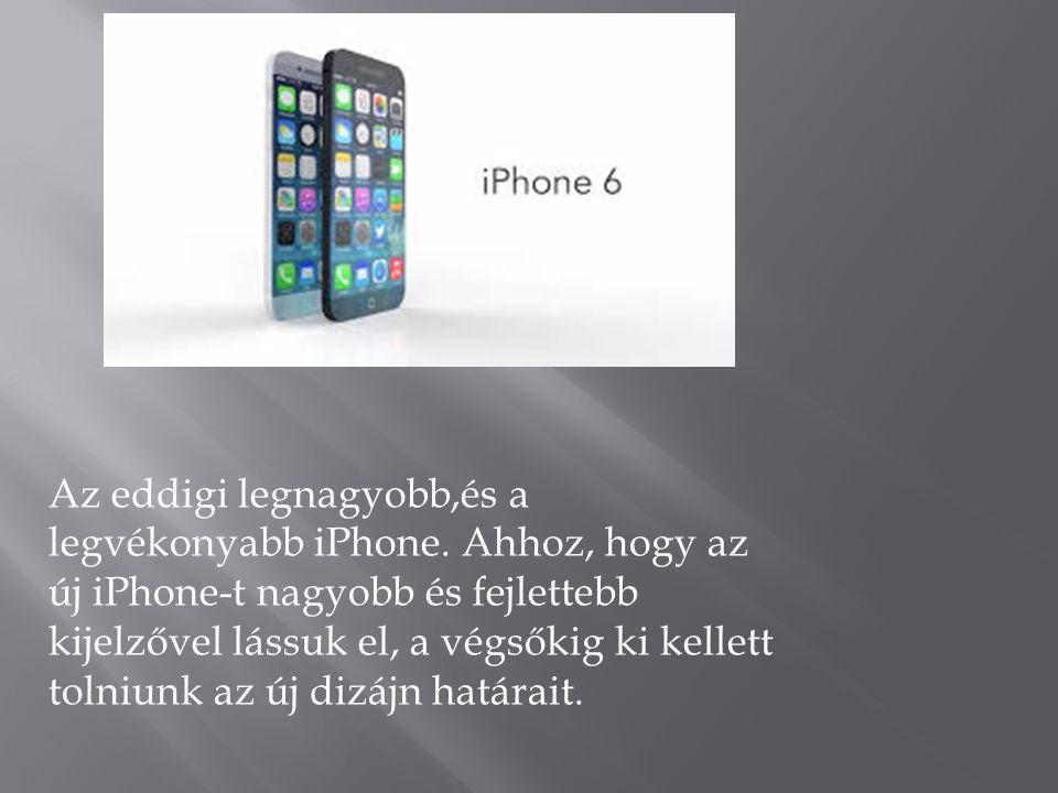 Az iOS 8 a világ legfejlettebb mobil operációs rendszere.