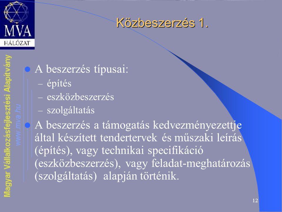12 Közbeszerzés 1.