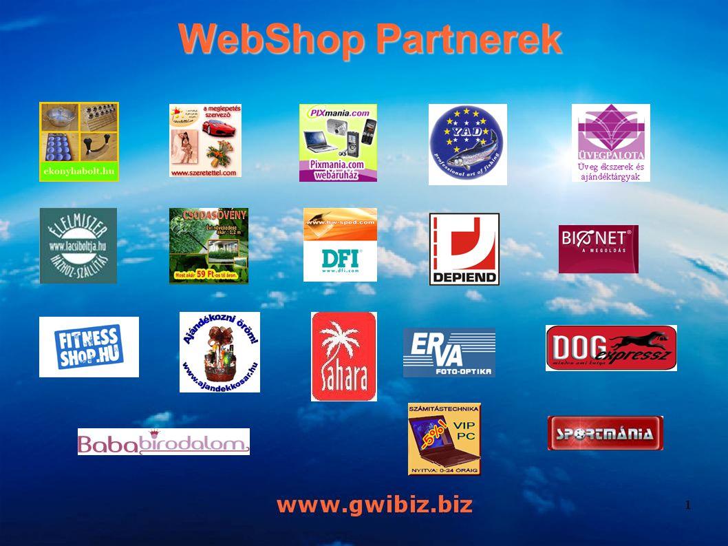 WebShop Partnerek