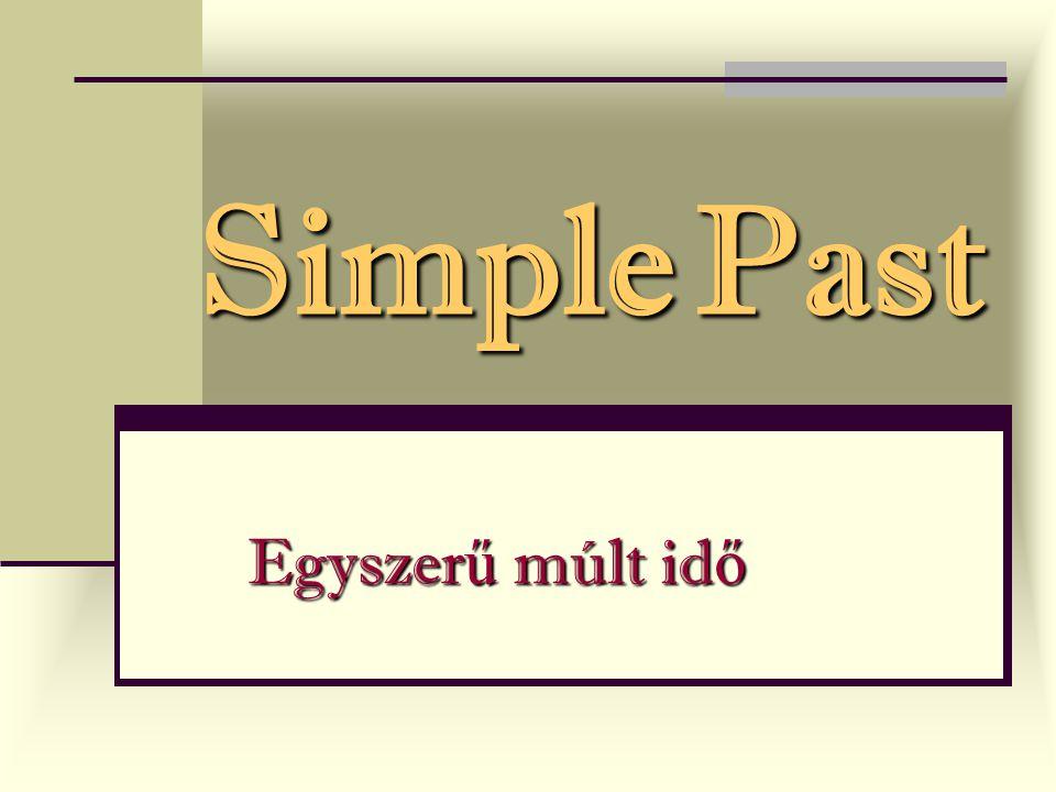 Examples : Magyarázz.Az egyszer ű jelen id ő melyik használatára példák a következ ő mondatok.