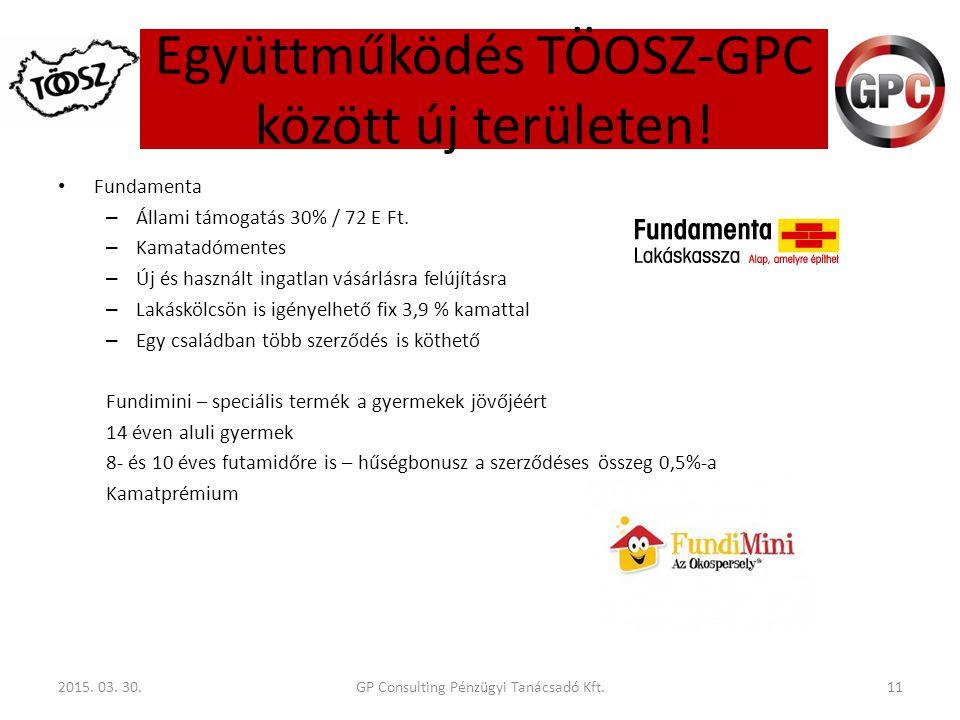 Fundamenta – Állami támogatás 30% / 72 E Ft. – Kamatadómentes – Új és használt ingatlan vásárlásra felújításra – Lakáskölcsön is igényelhető fix 3,9 %