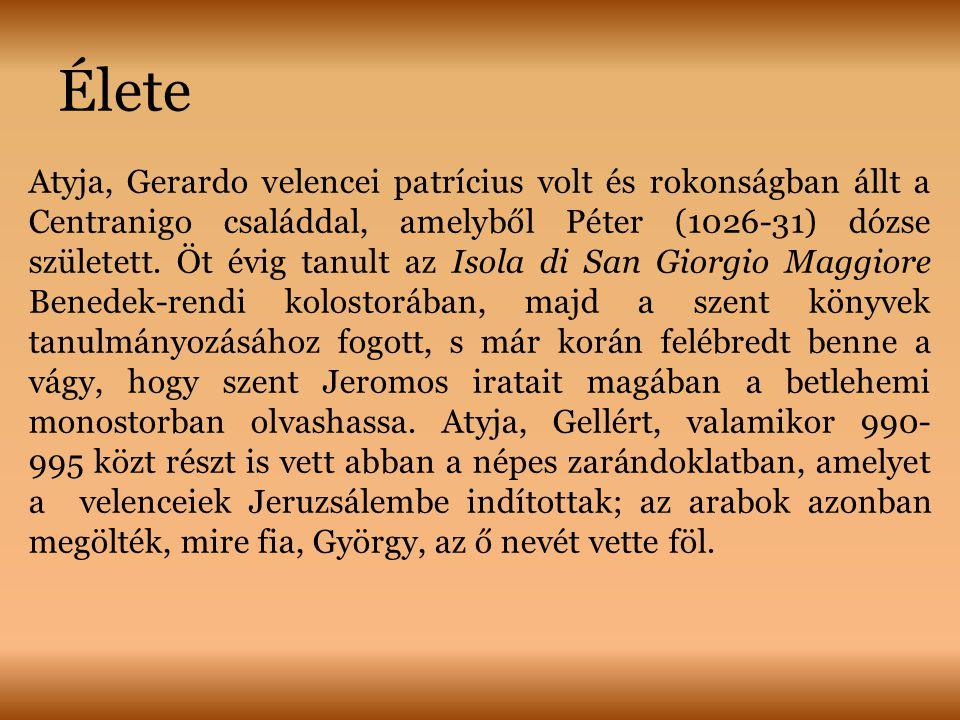 Élete Atyja, Gerardo velencei patrícius volt és rokonságban állt a Centranigo családdal, amelyből Péter (1026-31) dózse született.