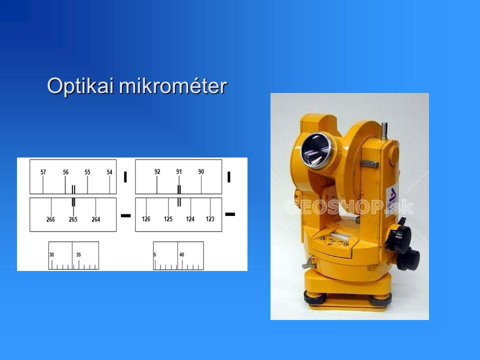 Optikai mikrométer