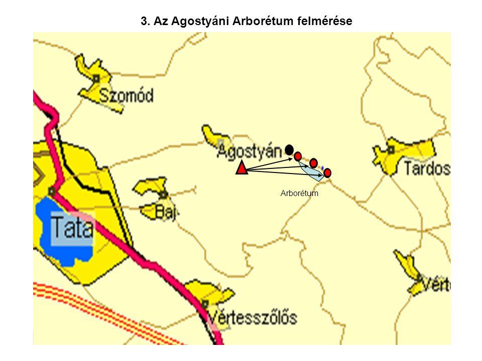 3. Az Agostyáni Arborétum felmérése Arborétum