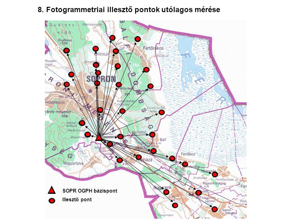 Bázisállomás Aktív GPS állomás útvonal 1-2 km 10-50 km 9.