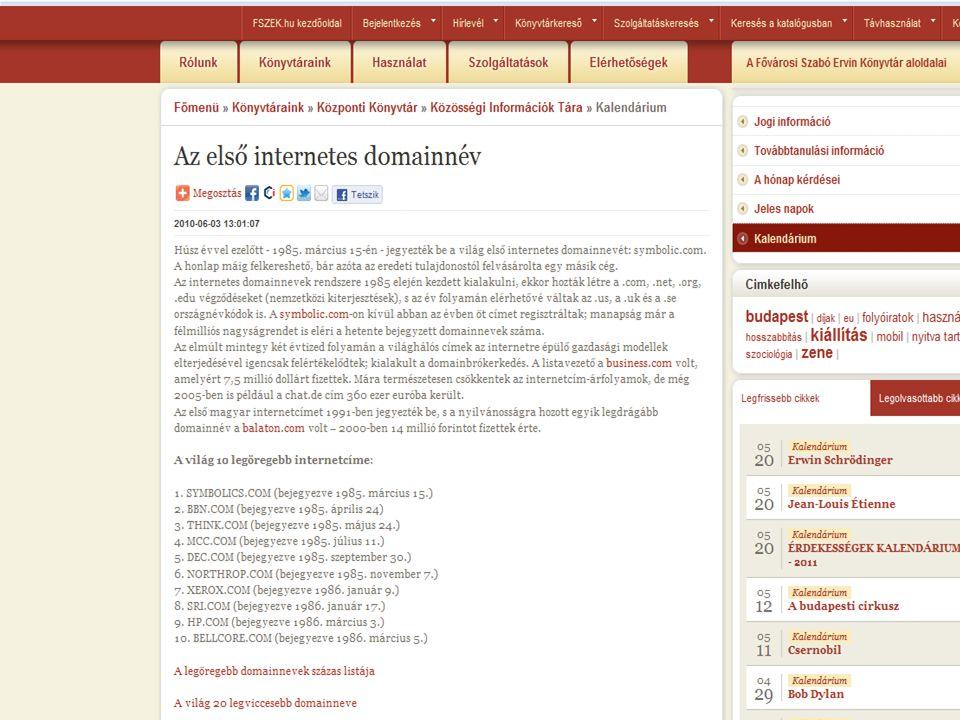 """1997 J ORN B ARGER """" WEBLOG KITALÁLÓJA Wikipédia: """"A weblogok gyakran frissített oldalak, melyek más cikkekre mutatnak a weben, gyakran megjegyzésekkel és azonos oldalon megtalálható cikkekre mutató linkekkel."""