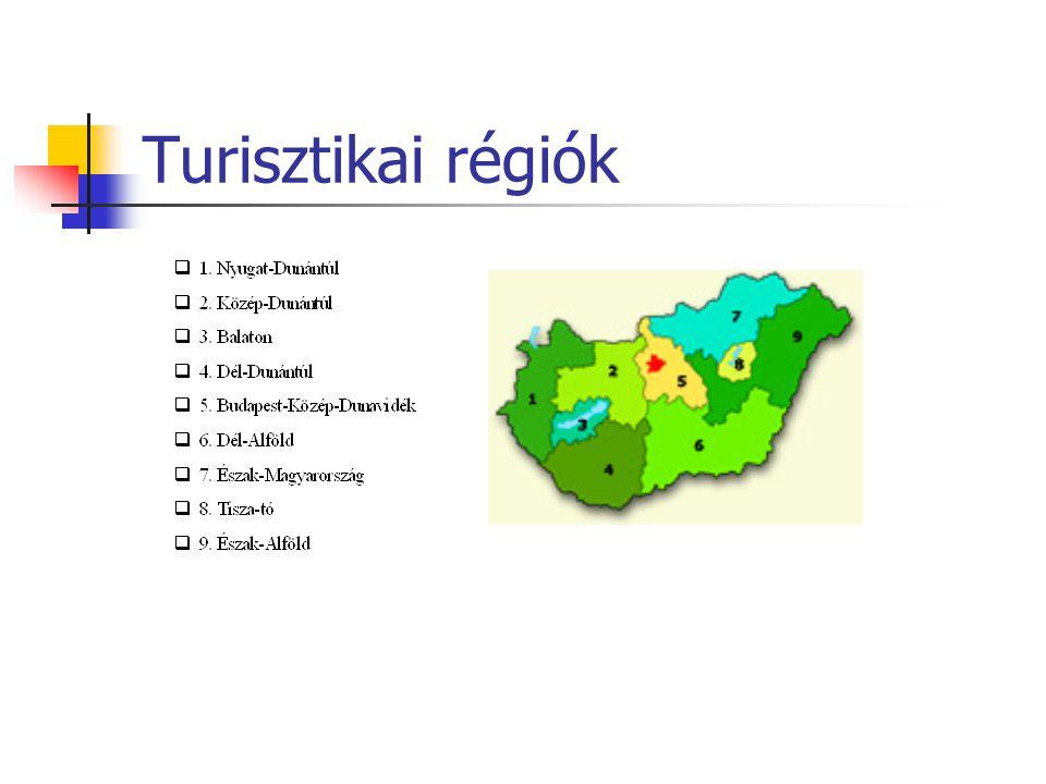 Turisztikai régiók