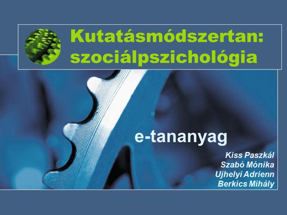 HEFOP Zárókonferencia 2006.09.27-28.2 Néhány szó a….