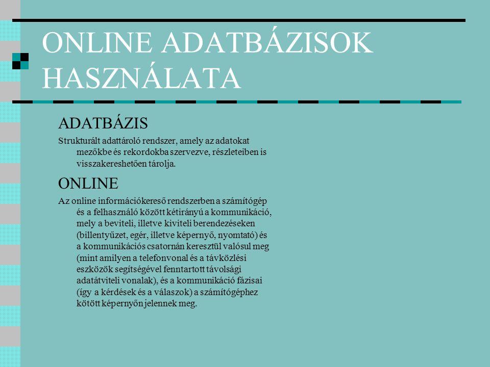 BUDAPEST Budapest történetének bibliográfiája, 1950-1983 Az adatbázis a fővárosi vonatkozású publikációk válogatott jegyzékét adja.