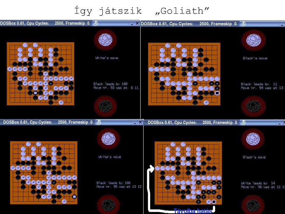 """Így játszik """"Goliath"""""""