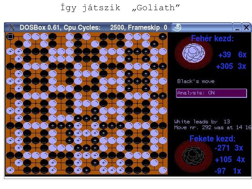 """Így játszik """"Goliath"""