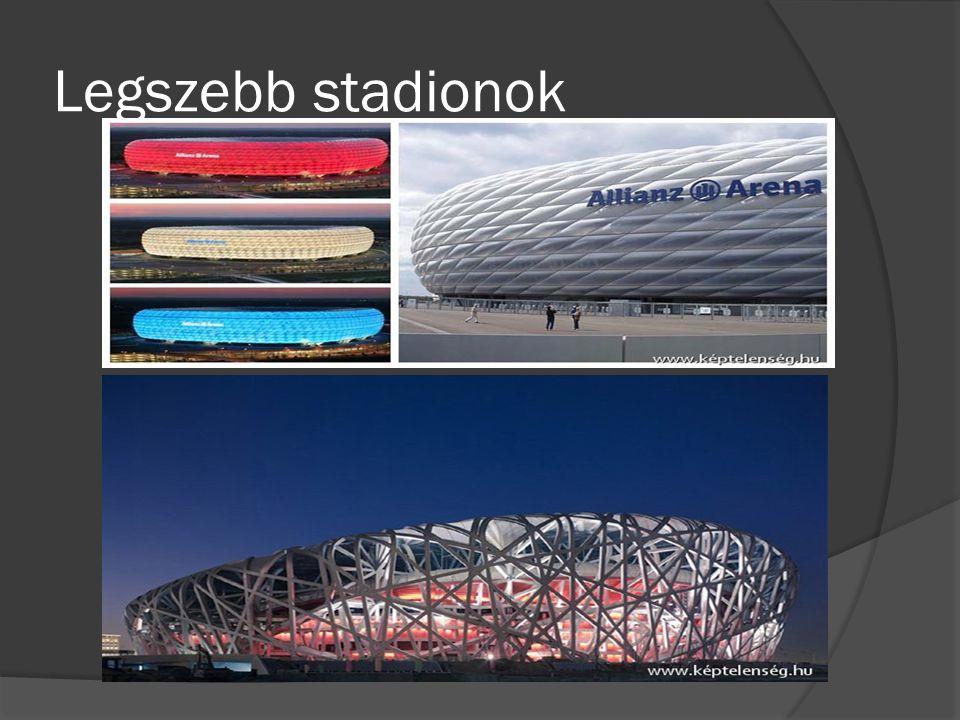 Legszebb stadionok