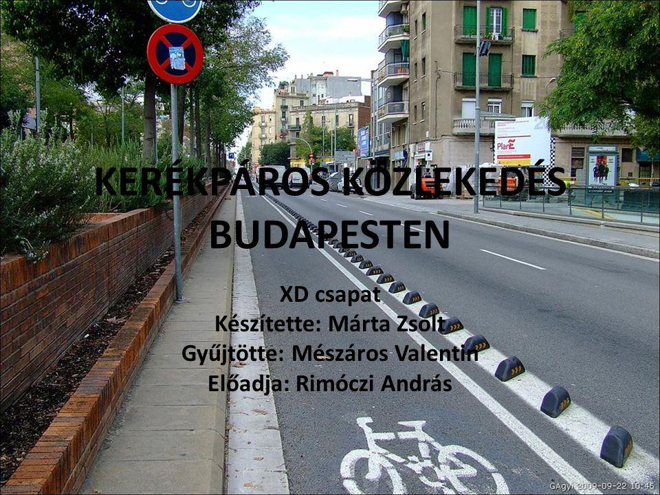 Témák Közvélemény kutatás Kerékpáros közlekedés helyzete Budapesten Aktuális problémák Megoldási javaslataink Eredmények közzététele