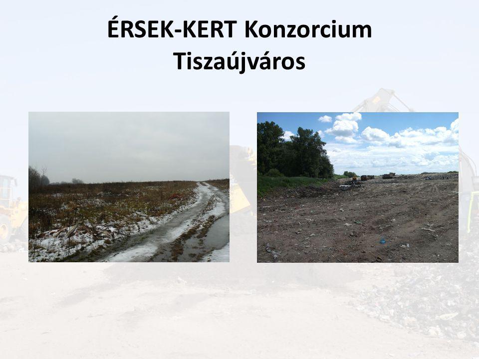ÉRSEK-KERT Konzorcium Tiszaújváros