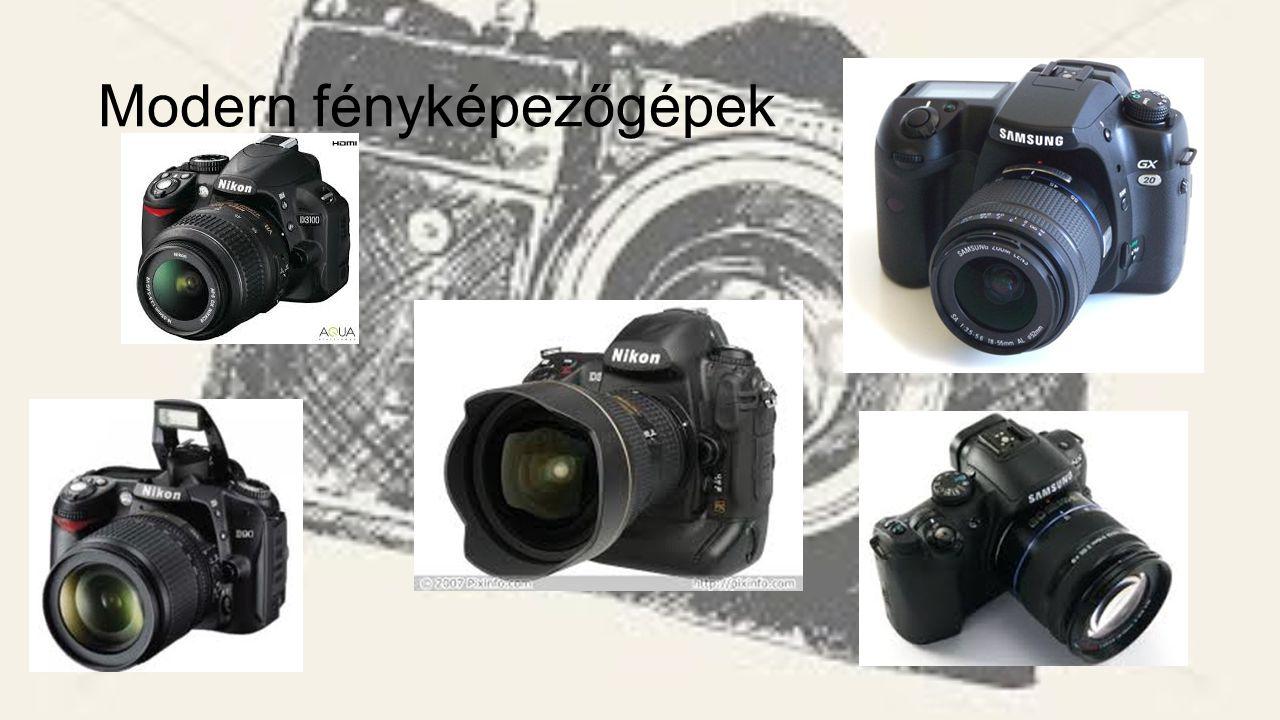 Modern fényképezőgépek