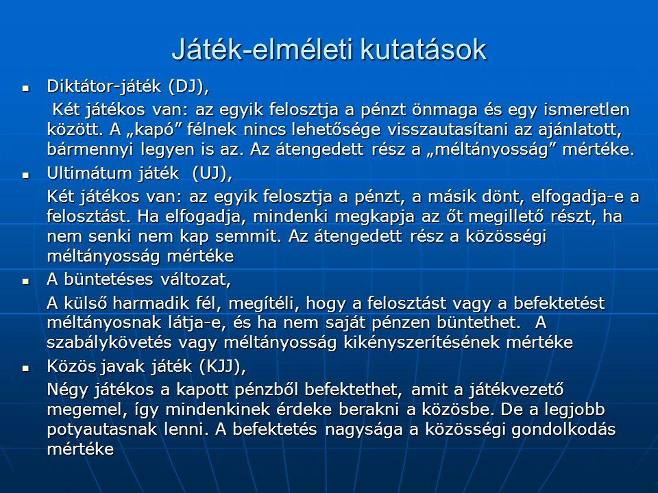 A piaci viszonyok meghatározóvá válásának gazdasági következményei (1) 1.