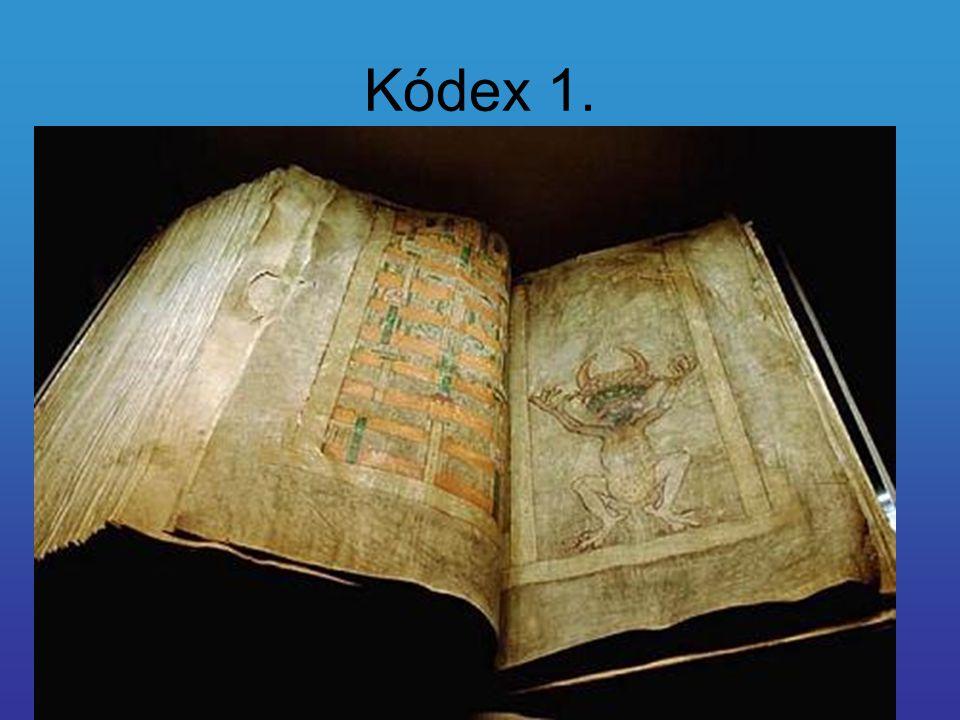 Kódex 1.