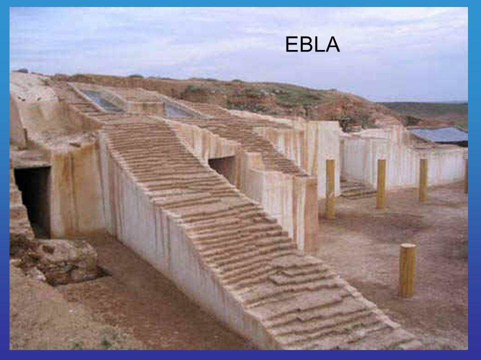 Ebla ókori nyugat-szíriai város volt – a mai Tell-Mardíh – Aleppótól délre, az i.