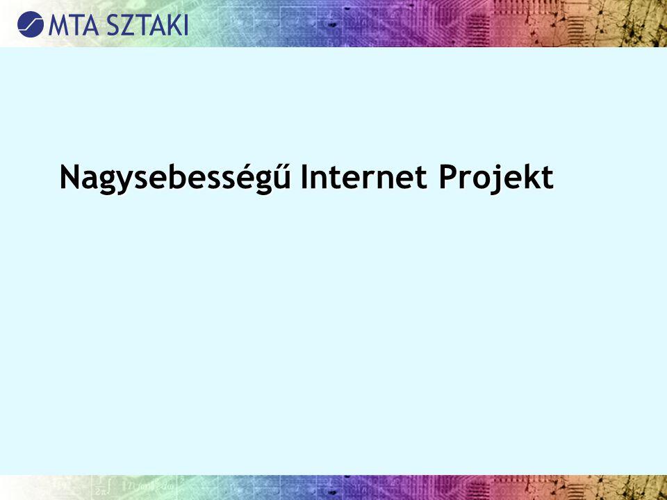 Nagysebességű Internet Projekt Nagysebességű Internet Projekt