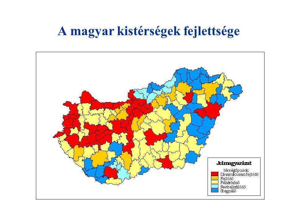 Magyarország részesedése a strukturális és kohéziós alapokból millió € Forrás 2004.