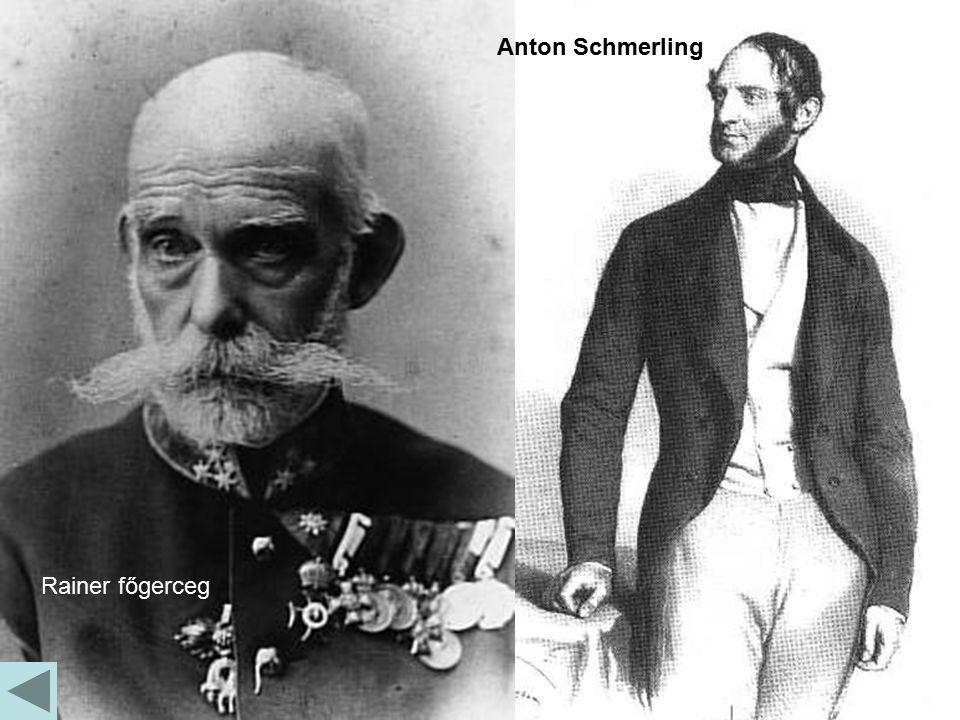 Rainer főgerceg Anton Schmerling