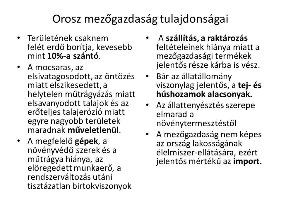Közép-Szibéria Krasznojarszk Irkutszk Bratszk Vízenergia, faipar, Fe és Al koh.,vegyipar