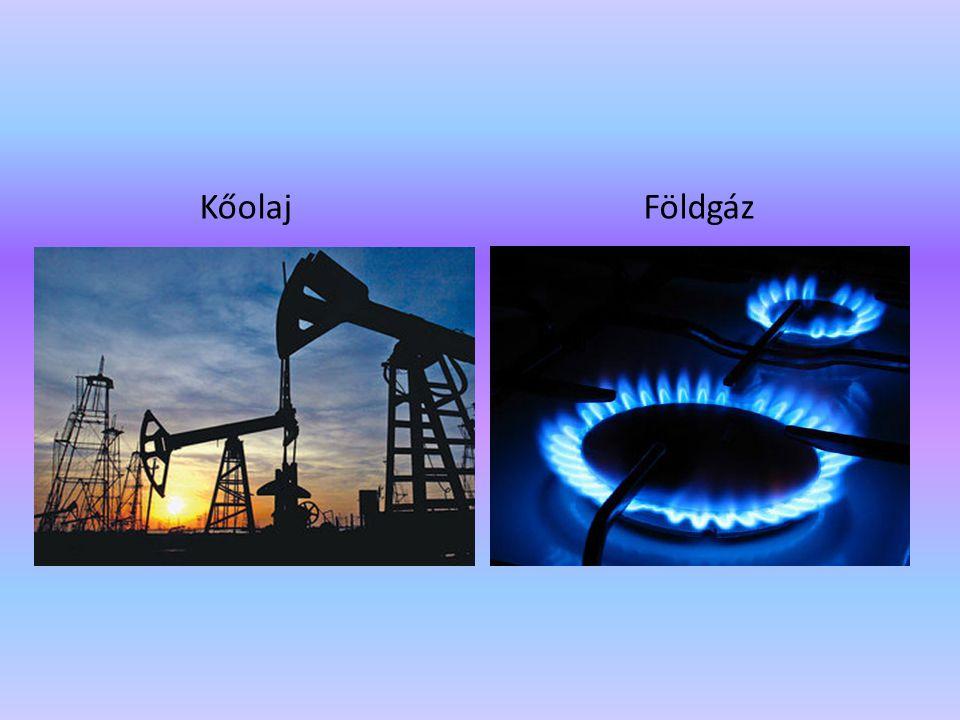 KőolajFöldgáz