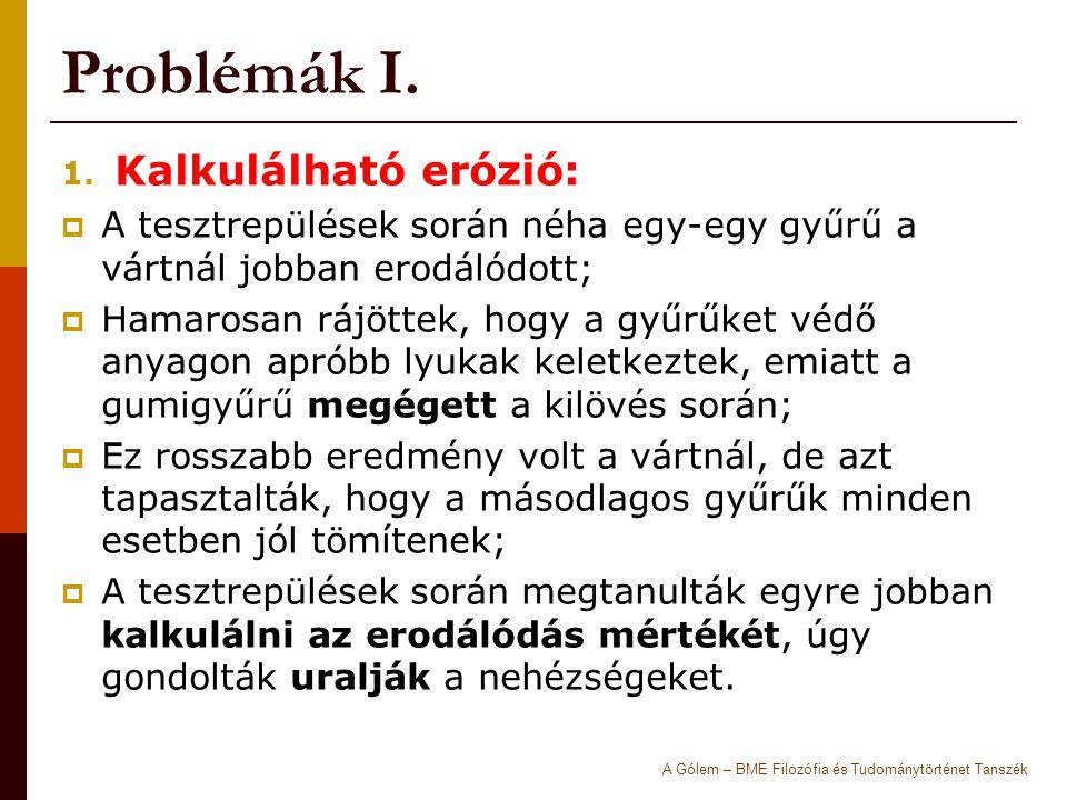 Problémák I.1.
