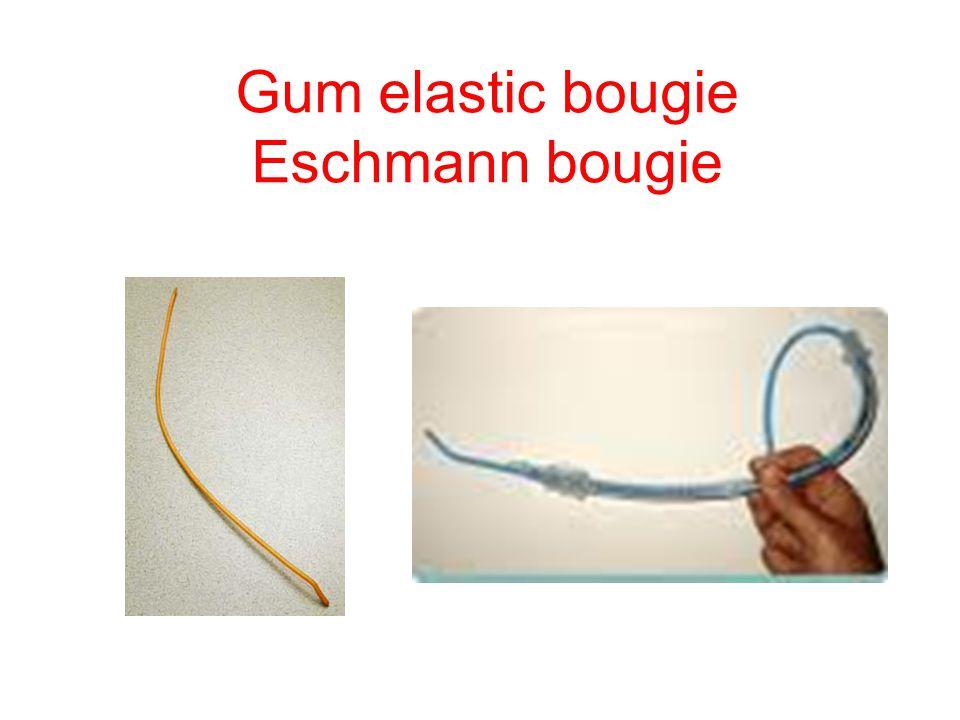 Gum elastic bougie Eschmann bougie