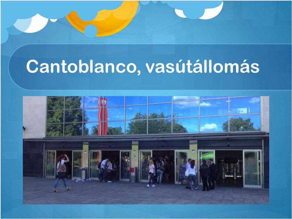 Cantoblanco, vasútállomás