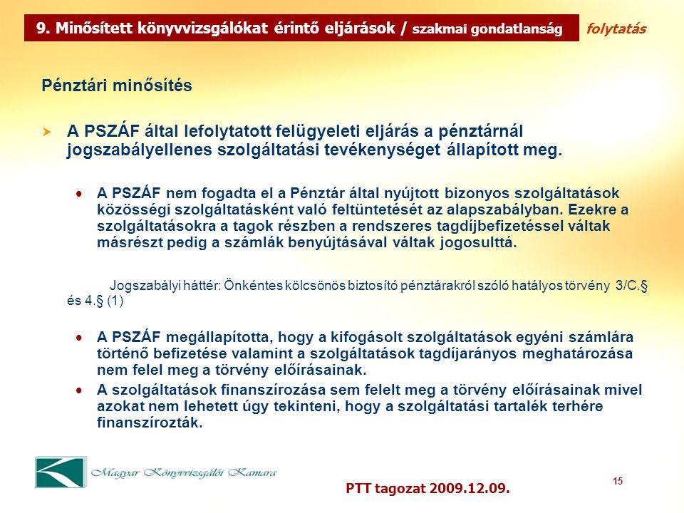 15 PTT tagozat 2009.12.09.