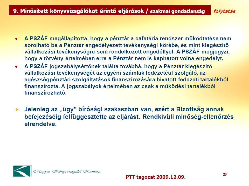 20 PTT tagozat 2009.12.09.