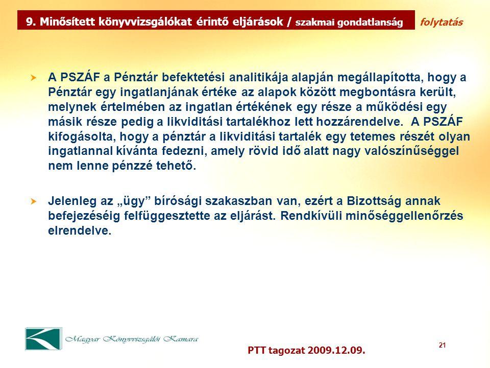 21 PTT tagozat 2009.12.09.