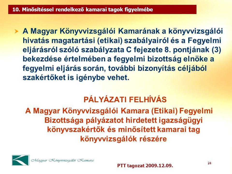 24 PTT tagozat 2009.12.09. 10.