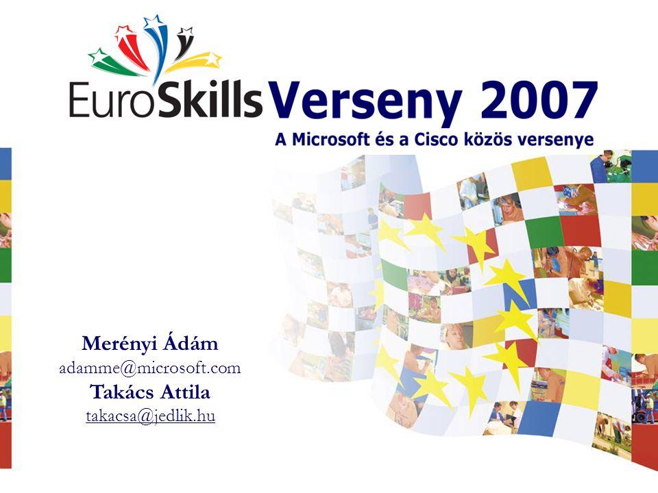 Merényi Ádám adamme@microsoft.com Takács Attila takacsa@jedlik.hu