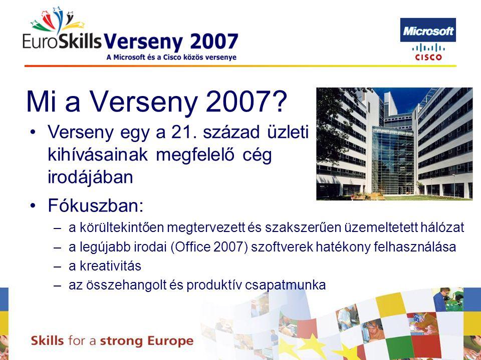 Mi a Verseny 2007. Verseny egy a 21.