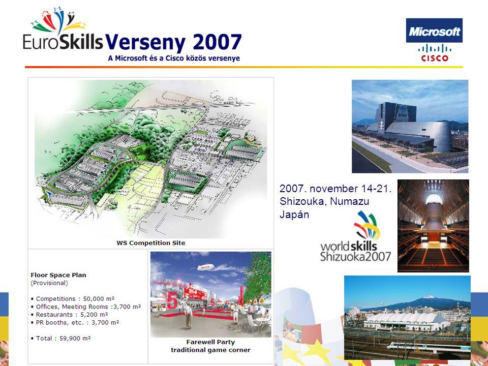 2007. november 14-21. Shizouka, Numazu Japán