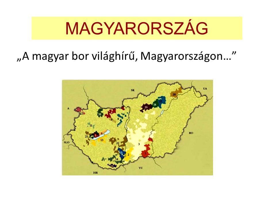"""MAGYARORSZÁG """"A magyar bor világhírű, Magyarországon…"""""""