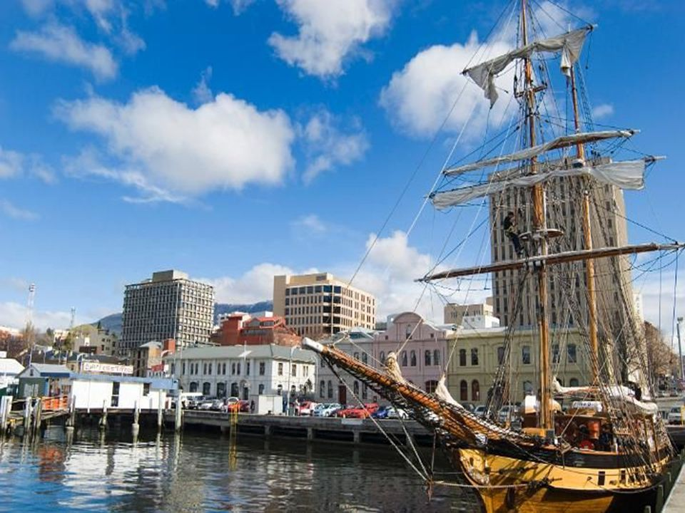 Hobart, a főváros