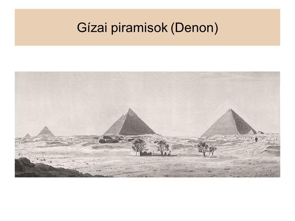 Gízai piramisok (Denon)