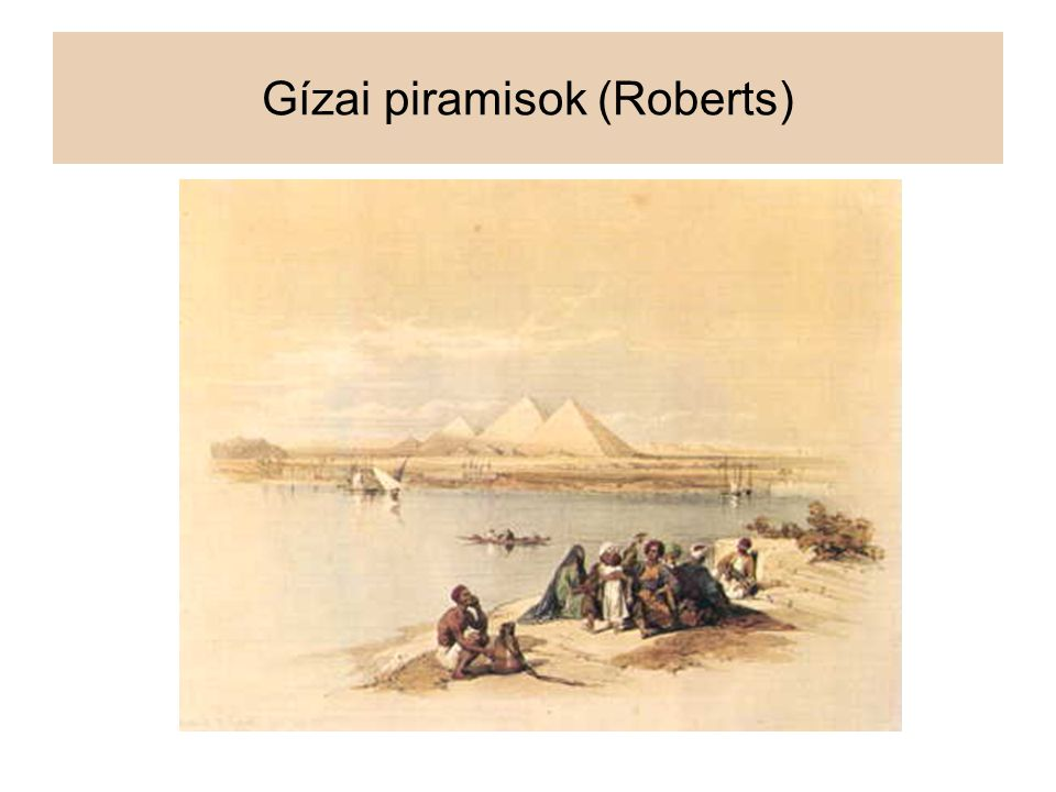 Gízai piramisok (Roberts)