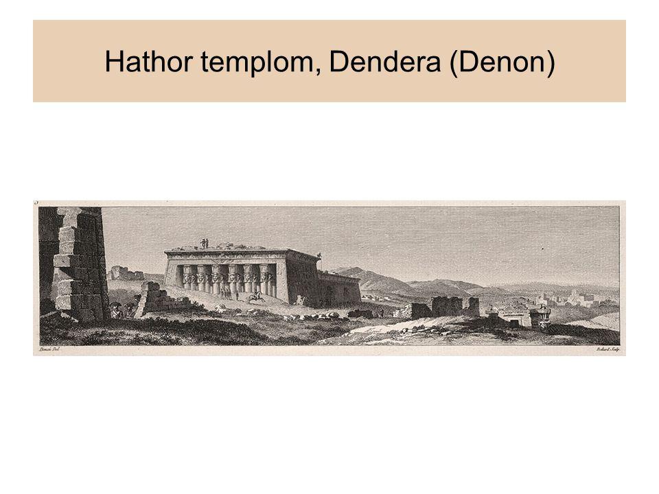 Hathor templom, Dendera (Denon)