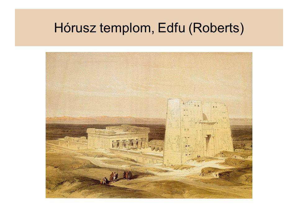 Hórusz templom, Edfu (Roberts)