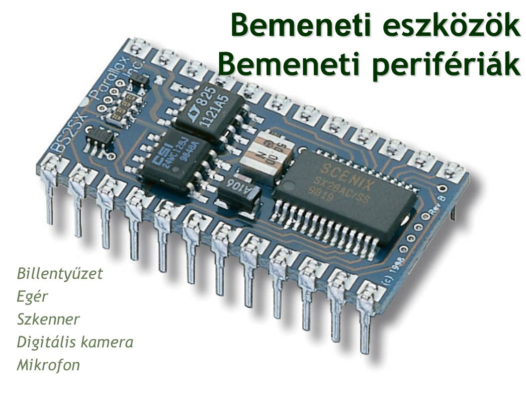 Eltérés a PC és Tablet felépítése között Érintőképernyő Tablet belső memória = számítógép winchester (ezen tárolódhatnak a programok + külső mem.